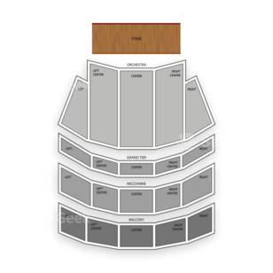 Copley Symphony Hall Seating Chart Concert