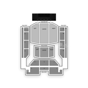 U.S. Cellular Center Seating Chart Concert