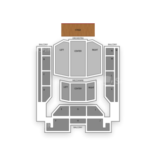 U.S. Cellular Center Seating Chart Dance Performance Tour