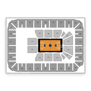 U.S. Cellular Center Seating Chart NCAA Basketball