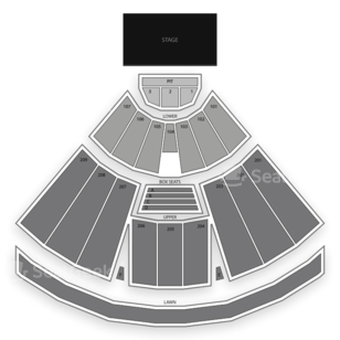 Concord Pavilion Seating Chart Parking