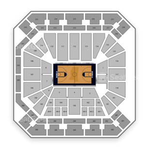 Ole Miss Rebels Basketball Seating Chart