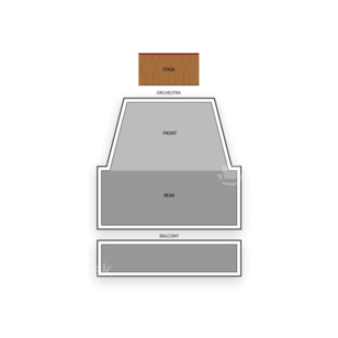 Century II Performing Arts and Convention Center Seating Chart Theater