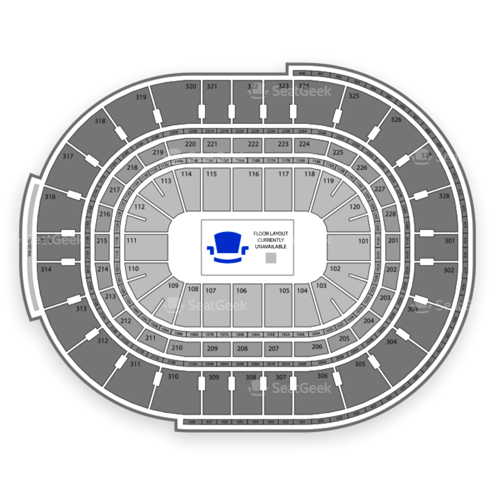 Canadian Tire Centre Seating Chart Parking