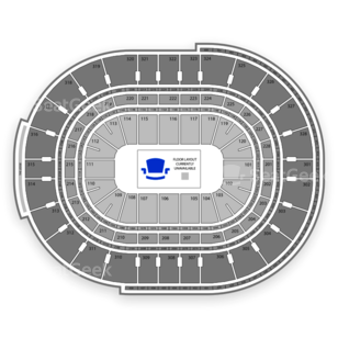 Canadian Tire Centre Seating Chart NBA
