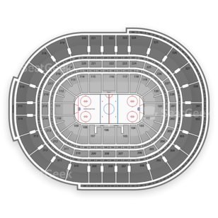 Canadian Tire Centre Seating Chart NHL