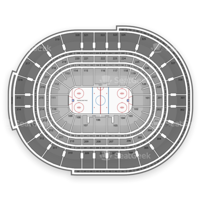 Canadian Tire Centre seating chart Ottawa Senators
