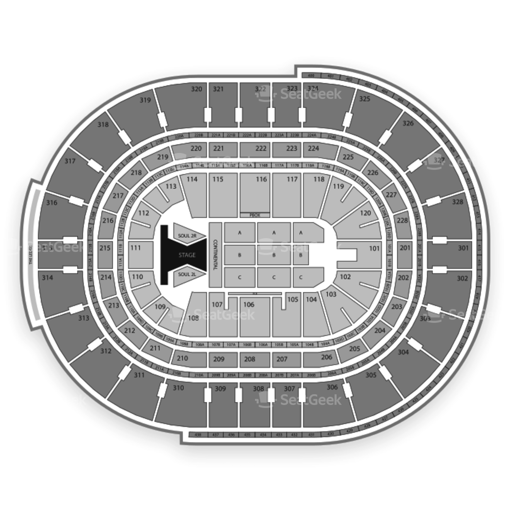 Canadian Tire Centre Seating Chart Concert