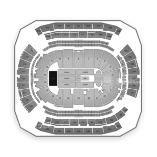 Prudential Center Seating Chart Concert