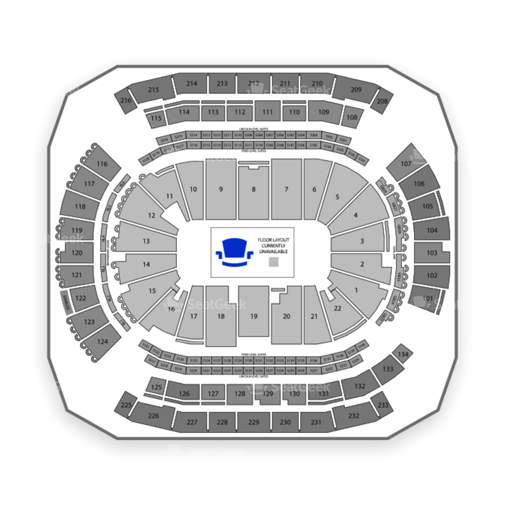 Allstate Arena Floor Plan: Prudential Center Concert Seating Chart With Seat Numbers