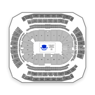 Prudential Center Seating Chart Hockey
