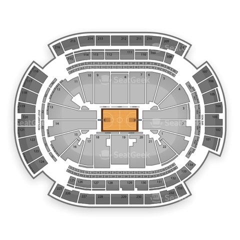 Prudential Center seating chart New York Liberty