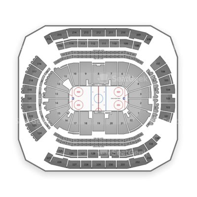 Prudential Center seating chart New Jersey Devils