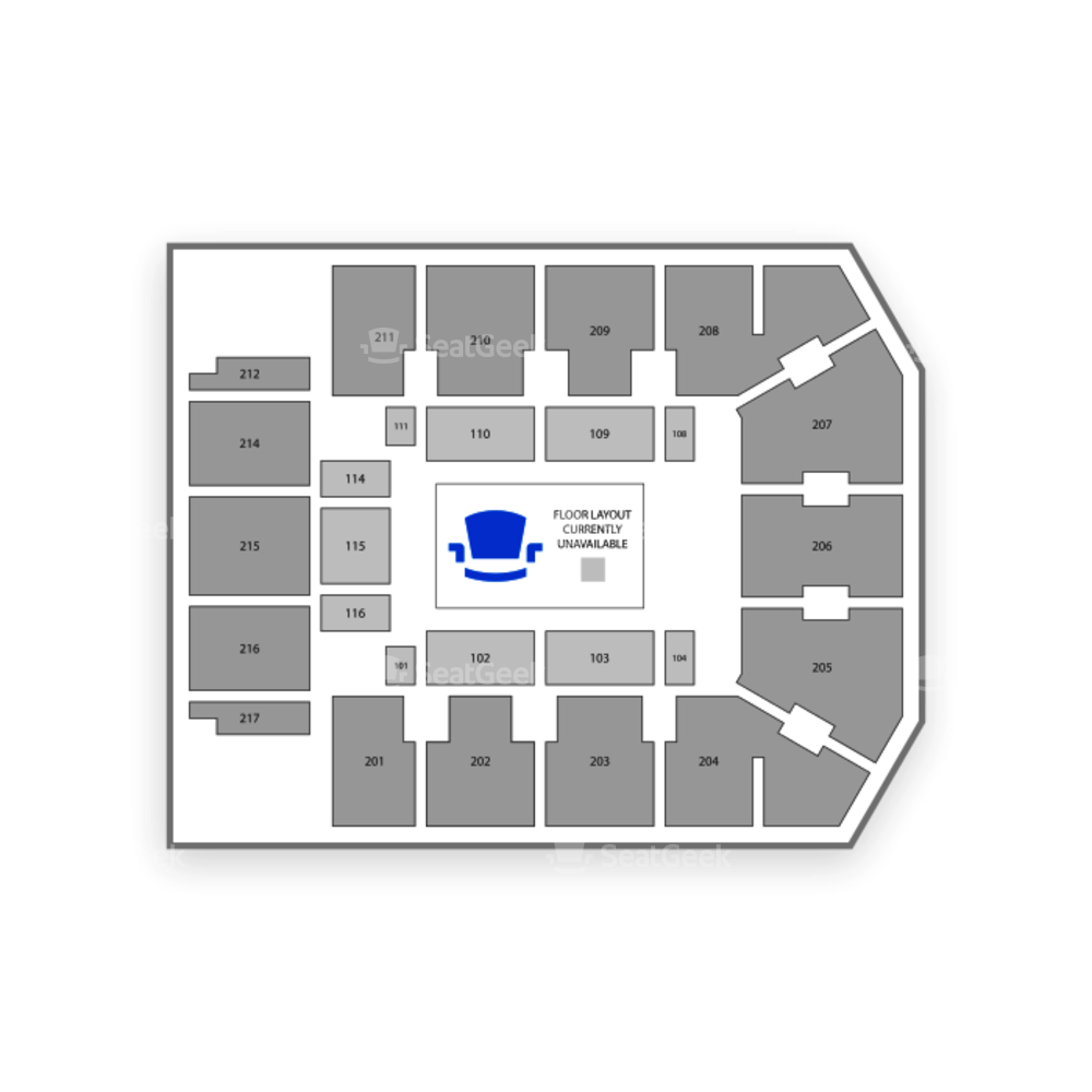 Adams Event Center Seating Chart Classical