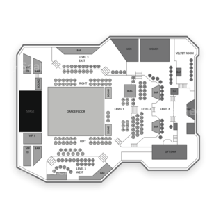 Atlanta Coliseum Seating Chart Concert
