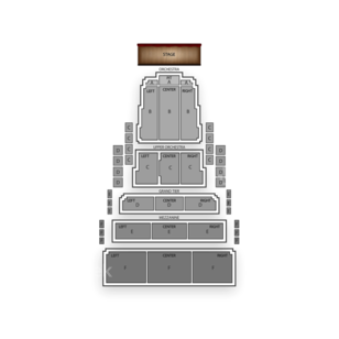 Civic Center Music Hall Seating Chart Dance Performance Tour