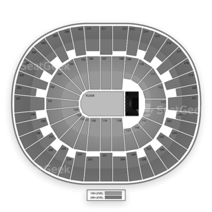 Lawrence Joel Veterans Memorial Coliseum Seating Chart Concert