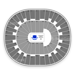 Lawrence Joel Veterans Memorial Coliseum Seating Chart Dance Performance Tour