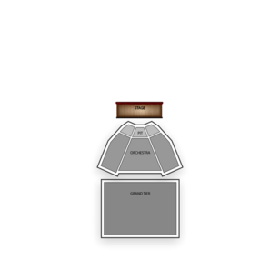 King Center for the Performing Arts Seating Chart Theater