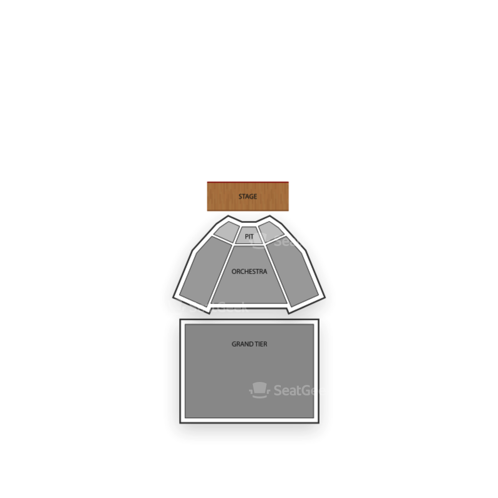 King Center for the Performing Arts Seating Chart Family