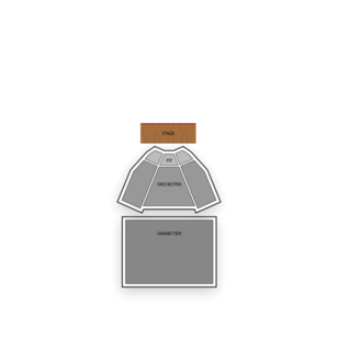 King Center for the Performing Arts Seating Chart Comedy