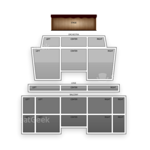 Saenger Theatre Seating Chart Comedy