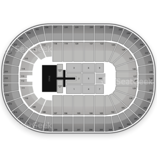 Times Union Center Seating Chart Concert