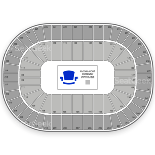 Times Union Center Seating Chart Horse Racing