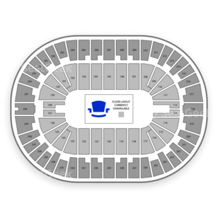 Times Union Center Seating Chart Rodeo