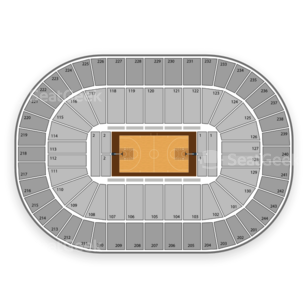 Times Union Center Seating Chart NCAA Basketball
