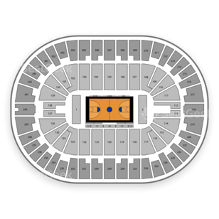 Times Union Center Seating Chart Basketball