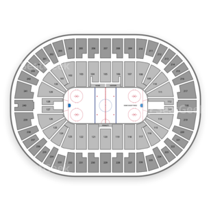 Times Union Center Seating Chart NCAA Hockey