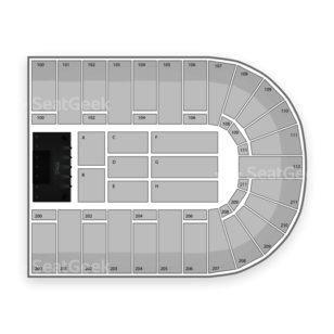 NRG Arena Seating Chart Comedy