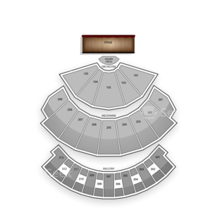 Planet Hollywood Resort and Casino Seating Chart Concert