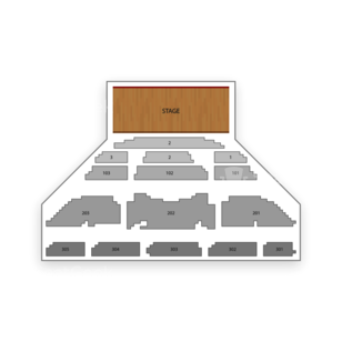 Sin City at Planet Hollywood Resort & Casino Seating Chart Comedy