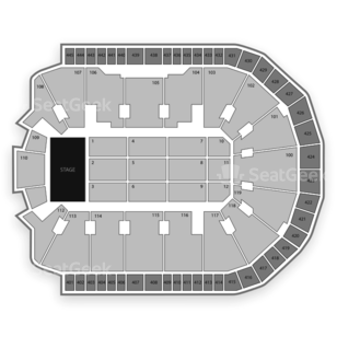 Webster Bank Arena Seating Chart Concert