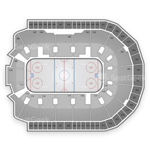 Bridgeport Sound Tigers Seating Chart