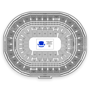 TD Garden Seating Chart Comedy