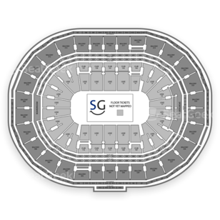 TD Garden Seating Chart MMA