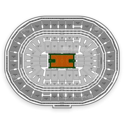 TD Garden seating chart Boston Celtics