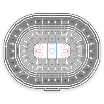 Boston Bruins at TD Garden Section 309 View