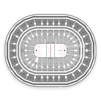 Boston Bruins at TD Garden Section 7 View