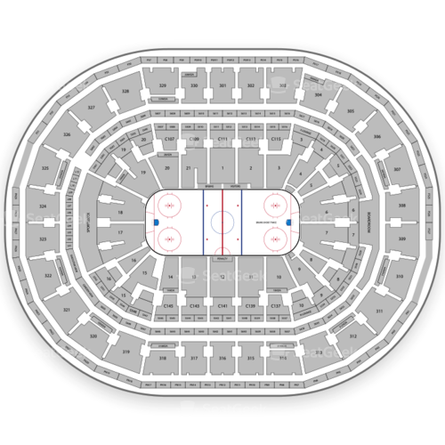 Boston Bruins Seating Chart Amp Map Seatgeek