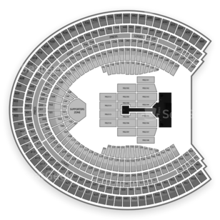 Olympic Stadium Seating Chart Concert