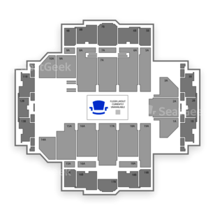 Tacoma Dome Seating Chart Comedy
