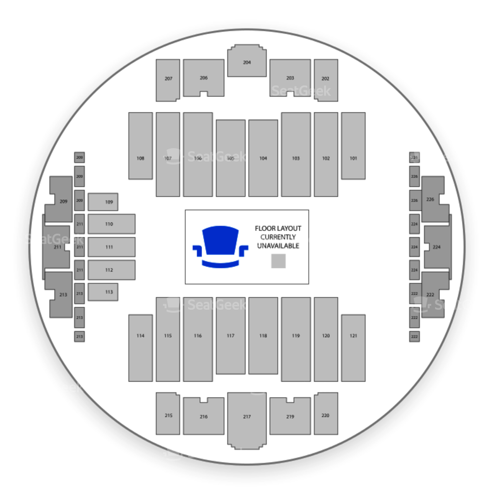 Tacoma Dome Seating Chart Concert