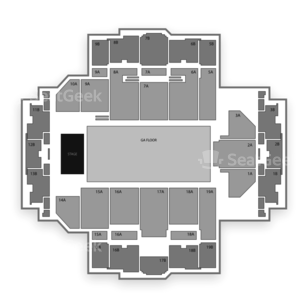Tacoma Dome Seating Chart Music Festival