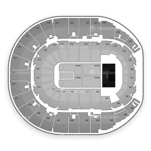 Verizon Arena Seating Chart