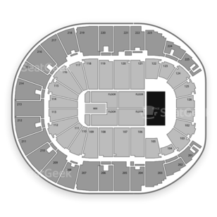 Verizon Arena Seating Chart Concert