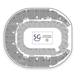Verizon Arena Seating Chart Music Festival